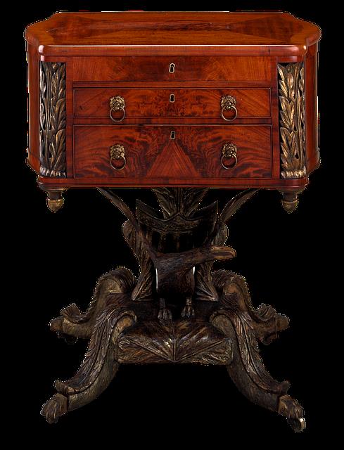 Table de travail meubles photo gratuite sur pixabay for Meuble transparent