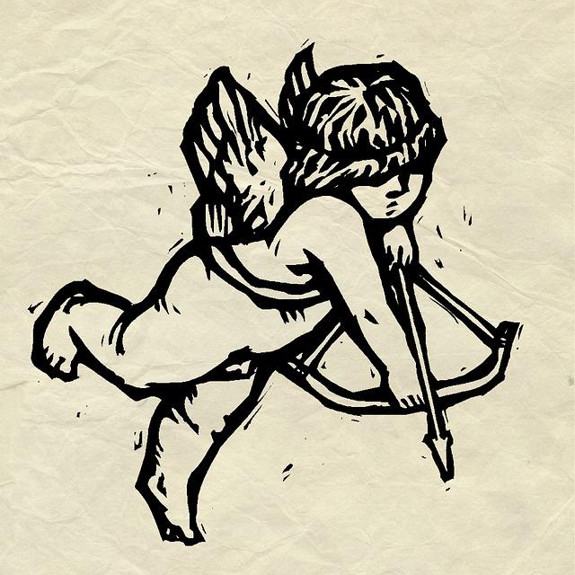 Illustration gratuite cupidon dessin parchemin l 39 amour image gratuite sur pixabay 948407 - Image de cupidon gratuite ...