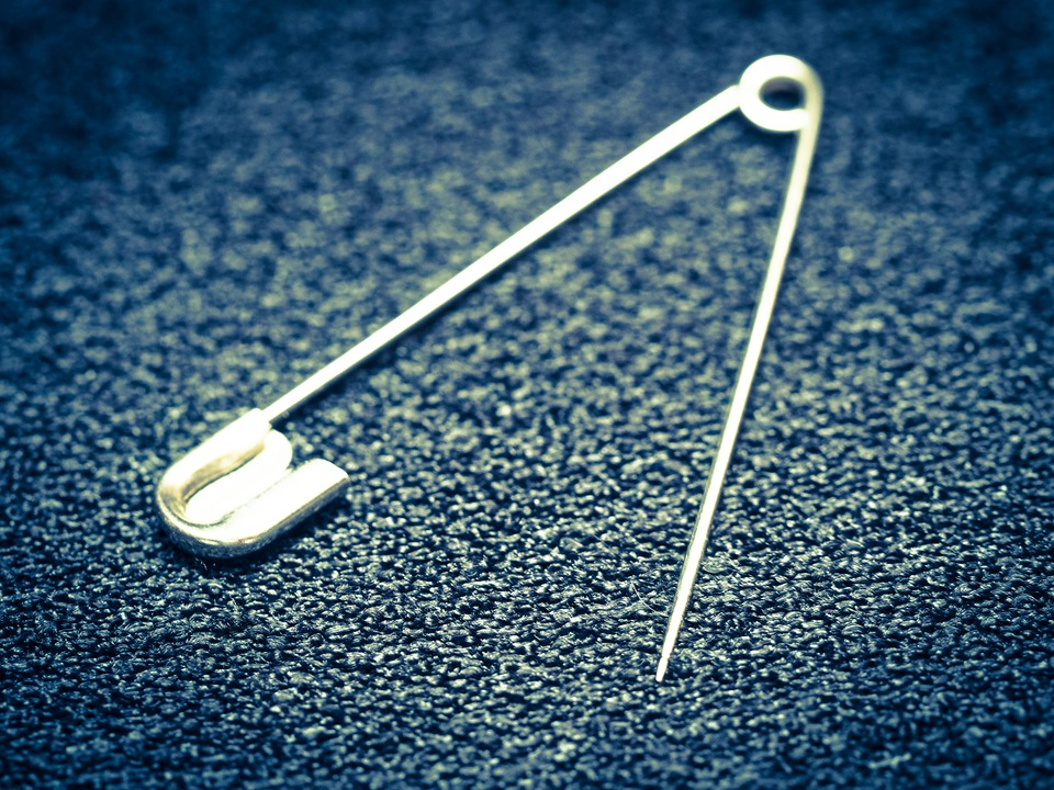 Safety Pin Needle Sew Hand - Free photo on Pixabay