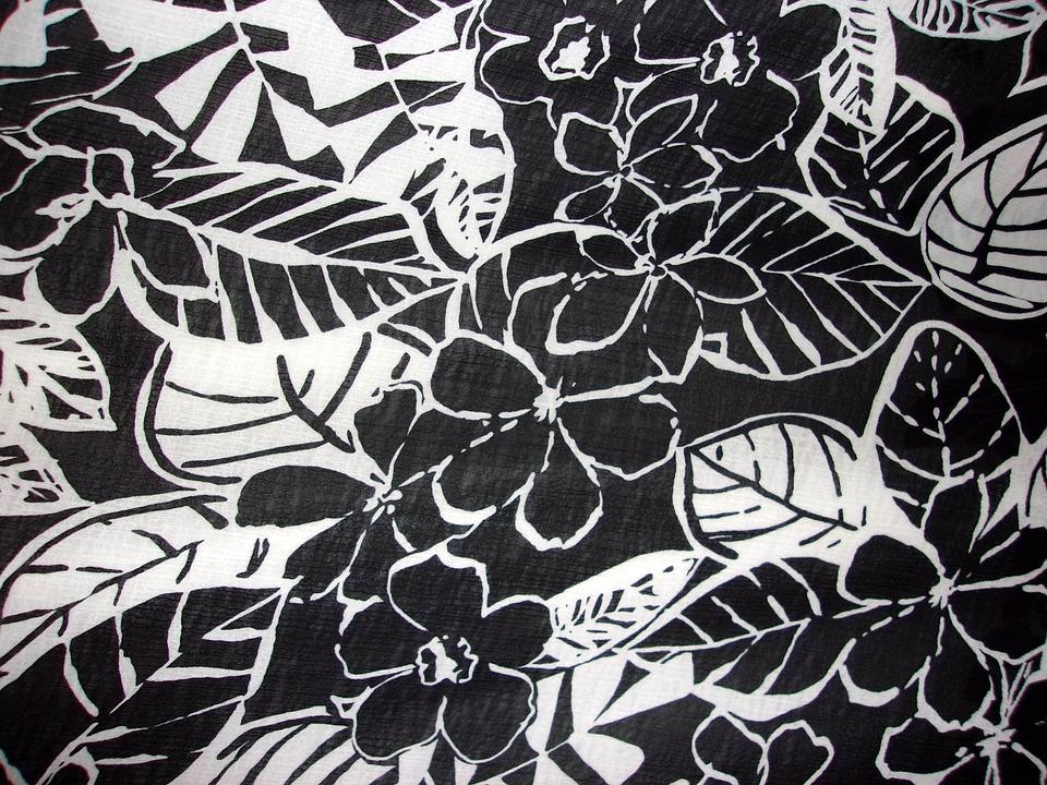 Fleurs Design Patron Noir Et Photo Gratuite Sur Pixabay