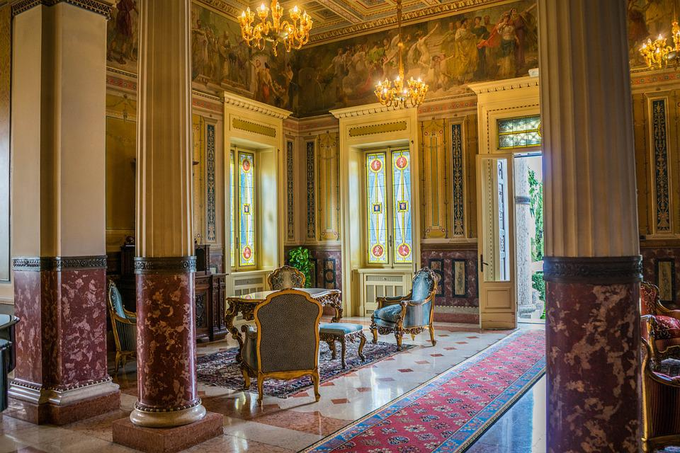 Free photo villa cortine palace free image on pixabay for Villa lobby interior design
