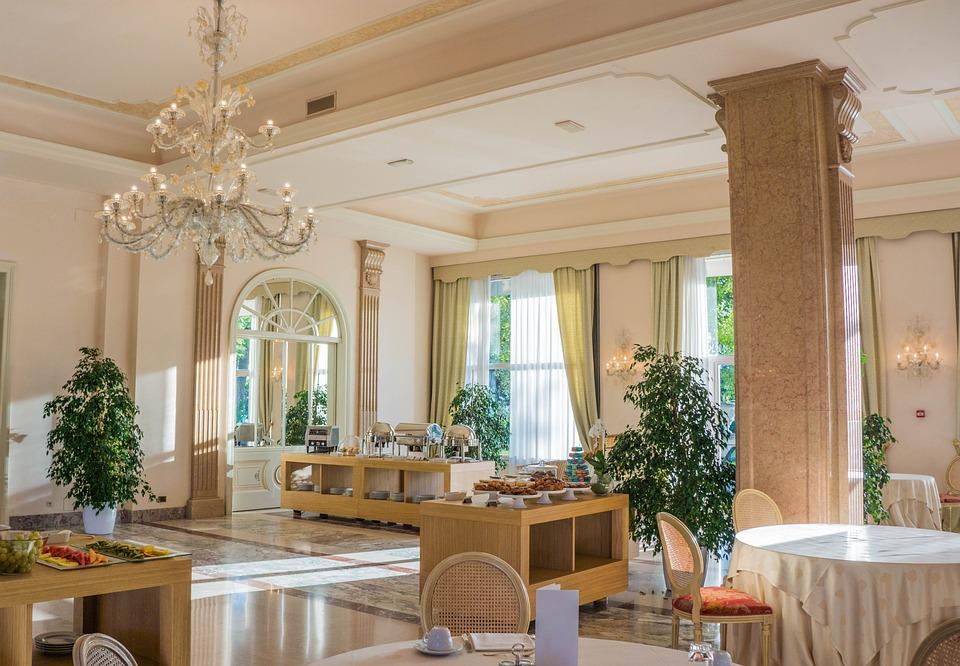 Palacio De Villa Cortine, Sala De Desayuno, Restaurante