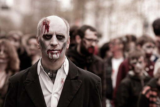Zombie, Flesh Eater, Dead, Spooky, Scary