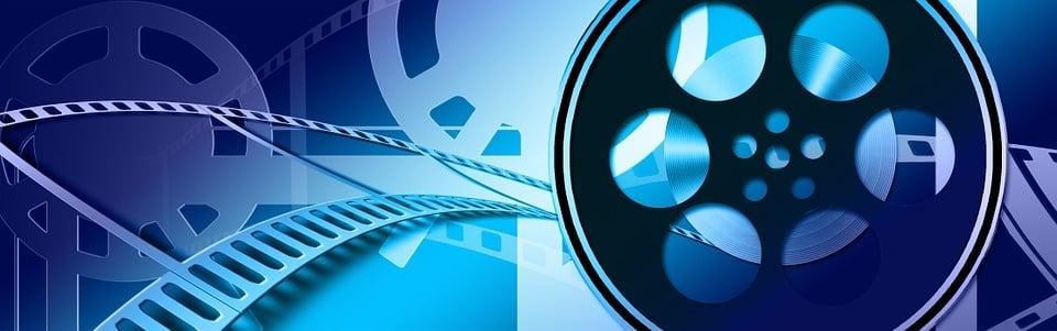 Banner Header Film Cinema Video Filmstrip Media