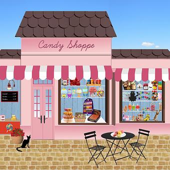 Boutique, Bonbons, Friandises