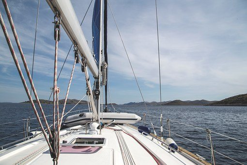 Sailboat Boat Sailing Yacht Islands C