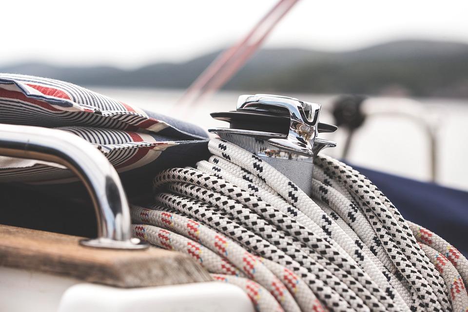 Seil, Boot, Segeln, Segelboot, Detail, Nautik, Marinen