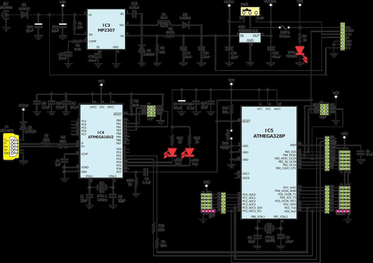 AVR-GCC 4 bit and 8 bit LCD library - WinAVR AVR-GCC