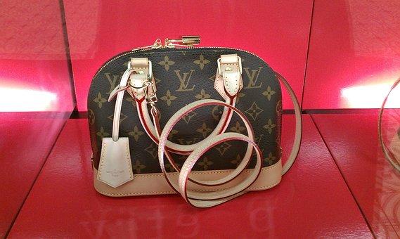 Tasche Louis Vuitton Braun Beige Edel Teue