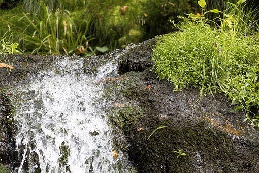 All Saints, Waterfall, Water, Source