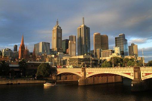 Melbourne, Australia, Urban, City