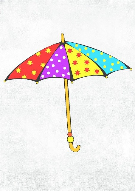 Umbrella Bright Kids 183 Free Image On Pixabay