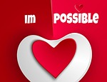 heart, impossible, love