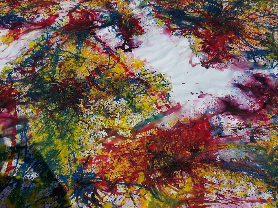 Lukisan Abstrak Hem: Lukisan Abstrak Warna Warni · Gambar Gratis Di Pixabay