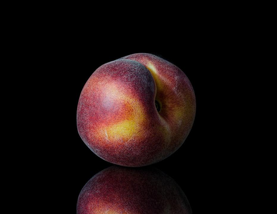 健康、果物、桃、食品、健康食品