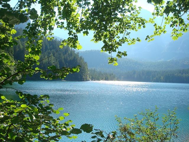 free photo lake view calming beautiful