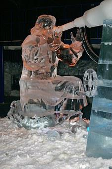 Ice Age, Ice Figures, Art, Erdbeerhof