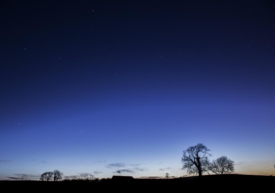 Blue Night Sky · Free Photo On Pixabay