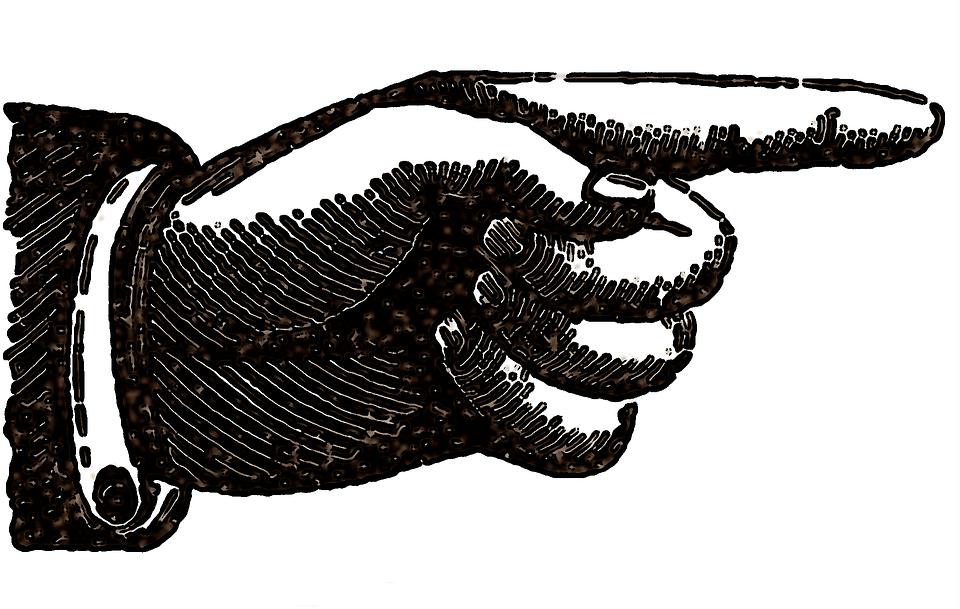 Illustration gratuite main dessin point doigt image - Dessin de doigt ...