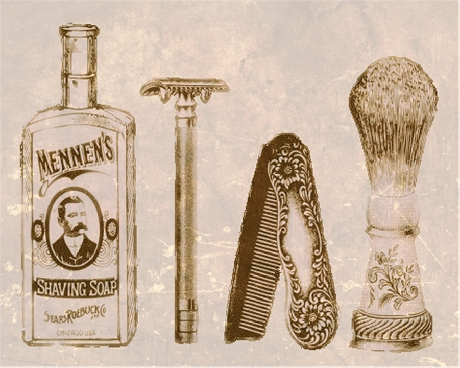 Attractive Shaving Grooming Vintage · Free image on Pixabay GB87