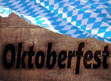 Wood, Oktoberfest, Flag, Bavaria