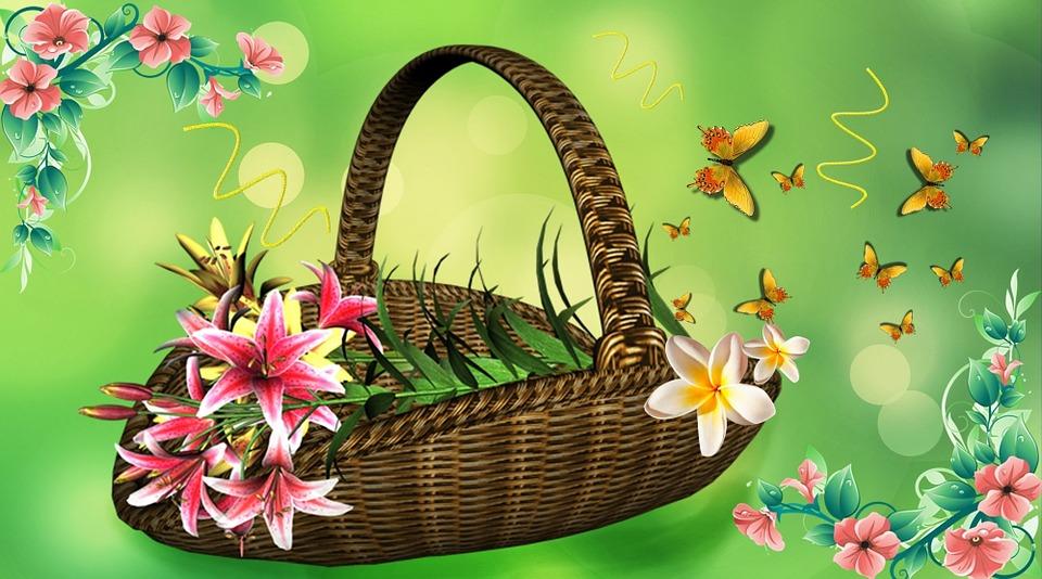 Corbeille De Fleurs Arrangement 183 Image Gratuite Sur Pixabay