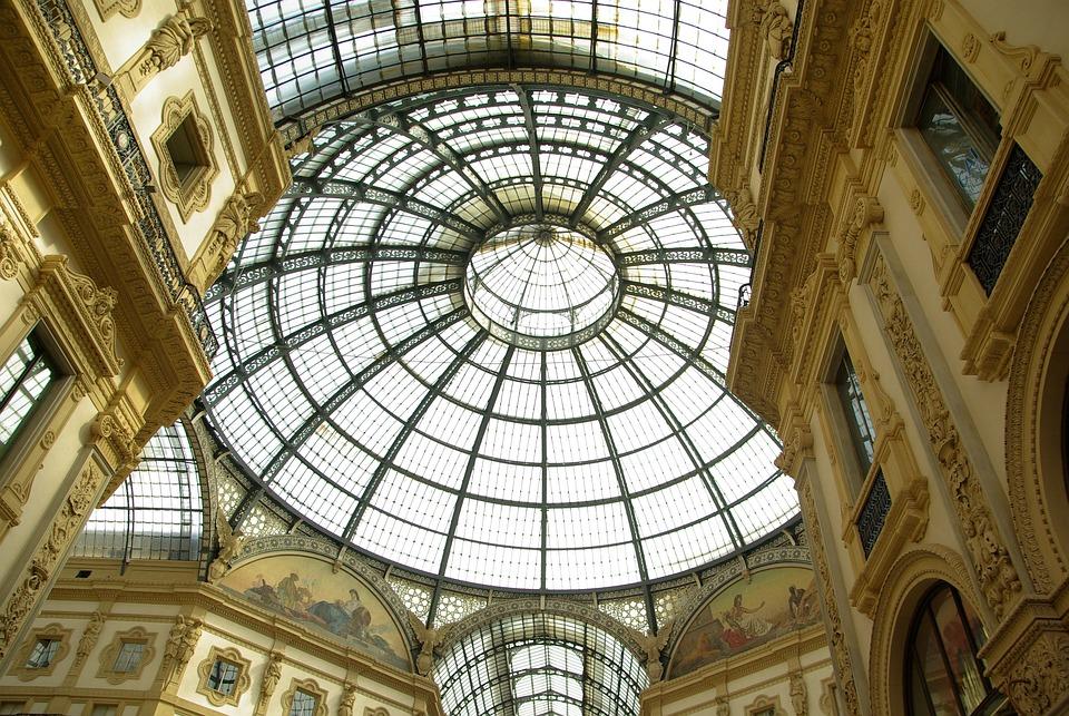 Italy Milan Gallery Free Photo On Pixabay
