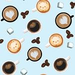 cup, coffee, sugar