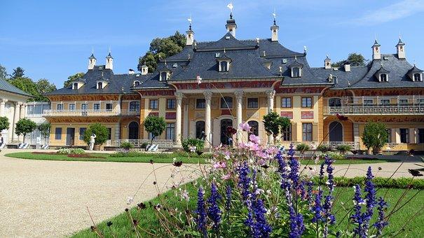 Schloss Pillnitz, Dresden, Schlosspark