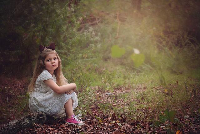 girl child woods 183 free photo on pixabay