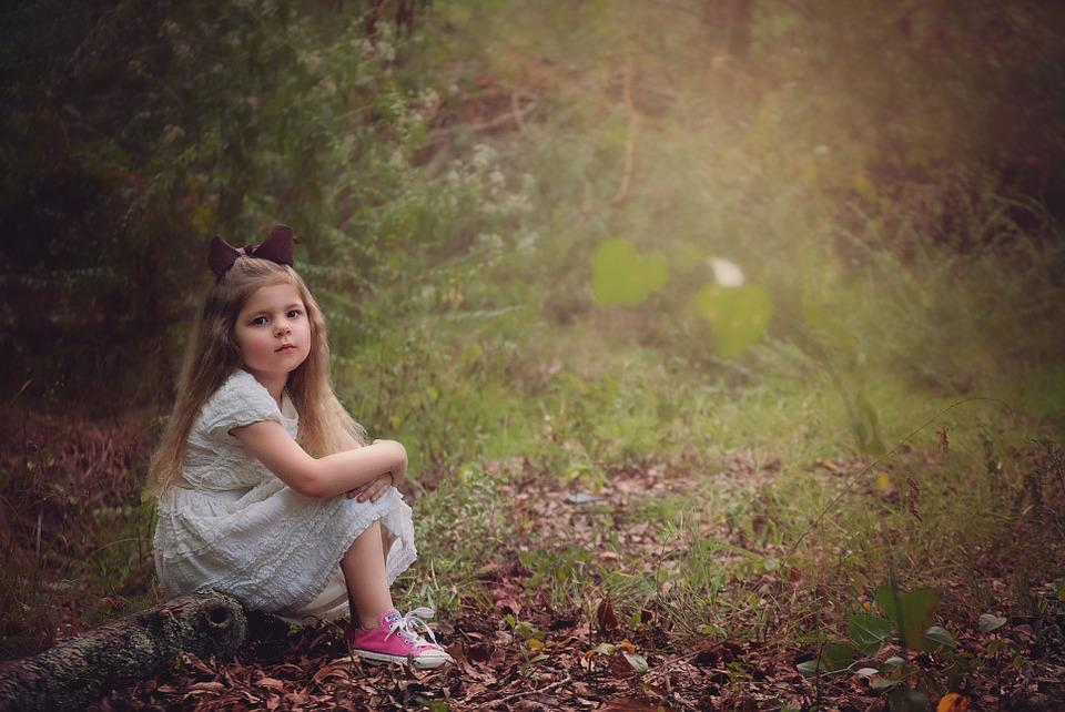 girl child woods free photo on pixabay