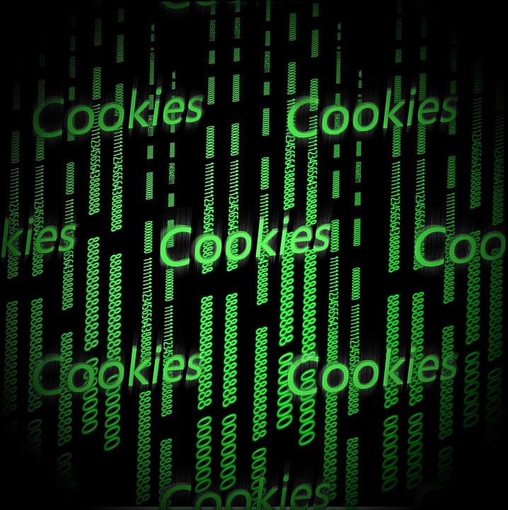 Cookies, Internet, Hintergrund, Zahlen, Matrix
