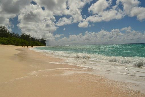 Barbados Sea Beach Sand Ocean Wave Idyllic