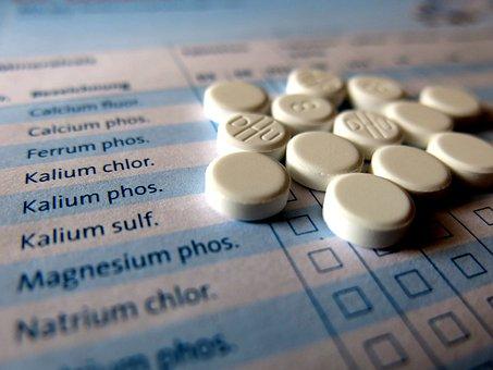 Schüssler, Comprimés, Homéopathie