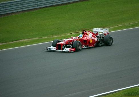Ferrari Boulid Fernando Alonso Formula One
