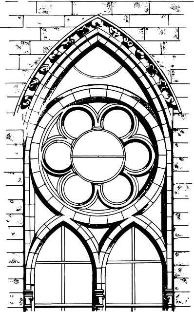 Drawing Cathedral Architecture 183 Free Vector Graphic On