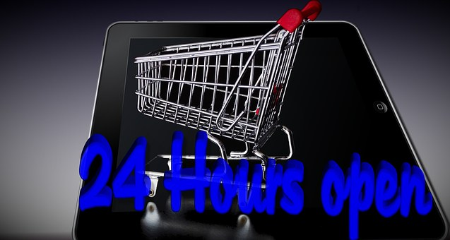 Shopping Cart, Tablet, Purchasing