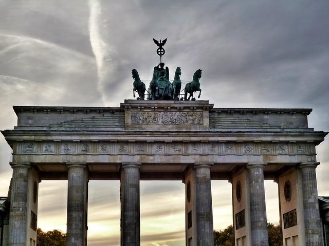 Free Photo Brandenburg Gate Berlin Landmark Free