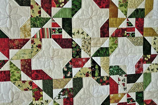 Prize Winning Quilt, Hand Made, Fabrics