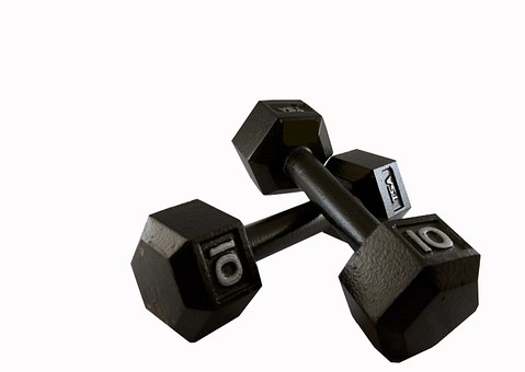 Weights, 10 Lbs, Exercise, Fitness