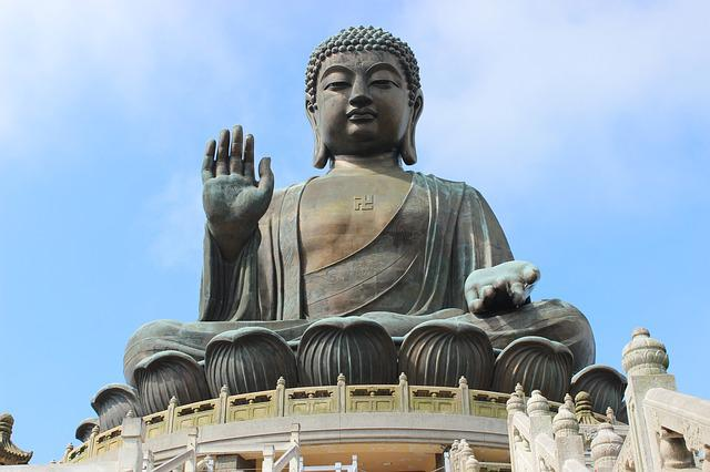 tian tan Tian tan buddha is one of the major attraction of hong kong which can be found at lantau island ngong ping 360.