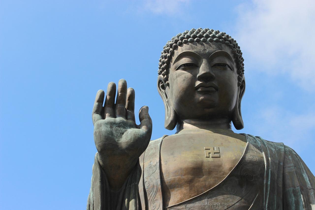 Tian Tan Buddha Bronze Hong Kostenloses Foto Auf Pixabay