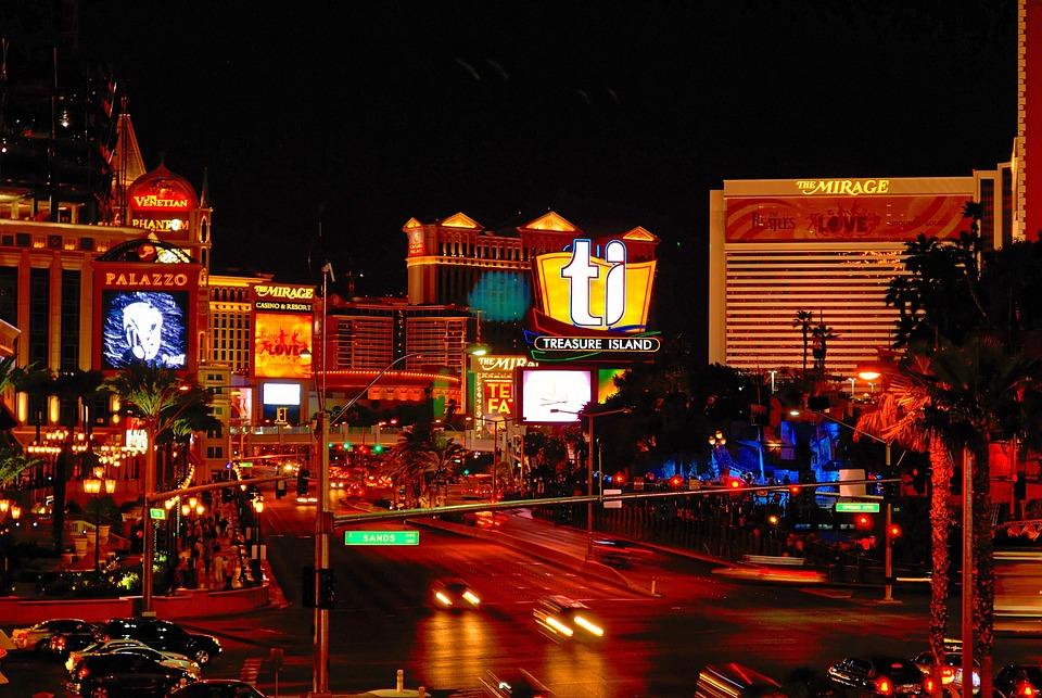 Foto Gratis: Las Vegas, Nevada, Escena Nocturna