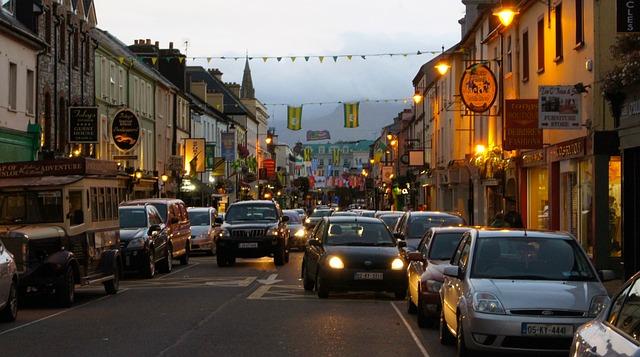 killarney ireland city  u00b7 free photo on pixabay