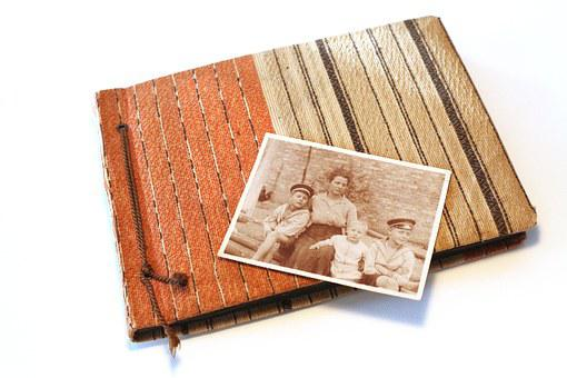 Photo Album, Old, Twenties, Mother