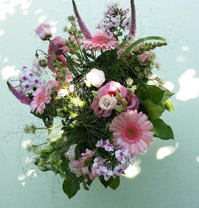 Genoeg Boeket Bloemen Zomerboeket Bedankt · Gratis foto op Pixabay PE-32