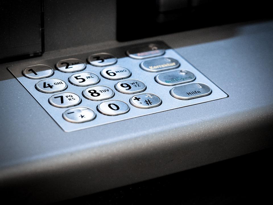 Atm Keypad Number Secret - Free photo on Pixabay