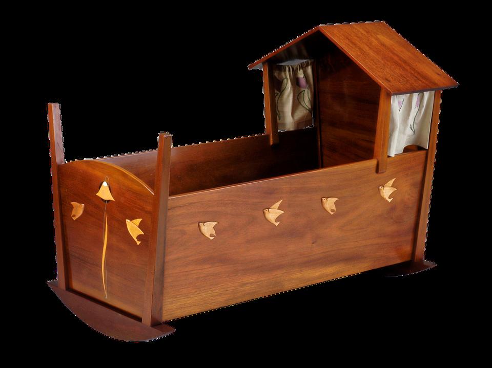 Cradle Furniture Baby Bed · Free photo on Pixabay