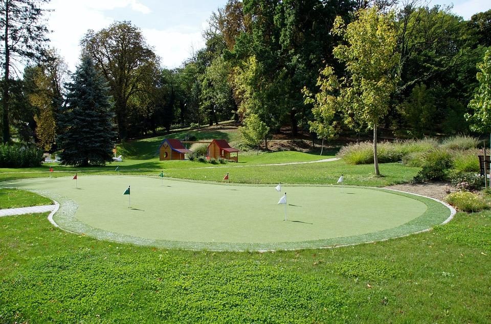foto gratis minigolf campo sport gioco  immagine