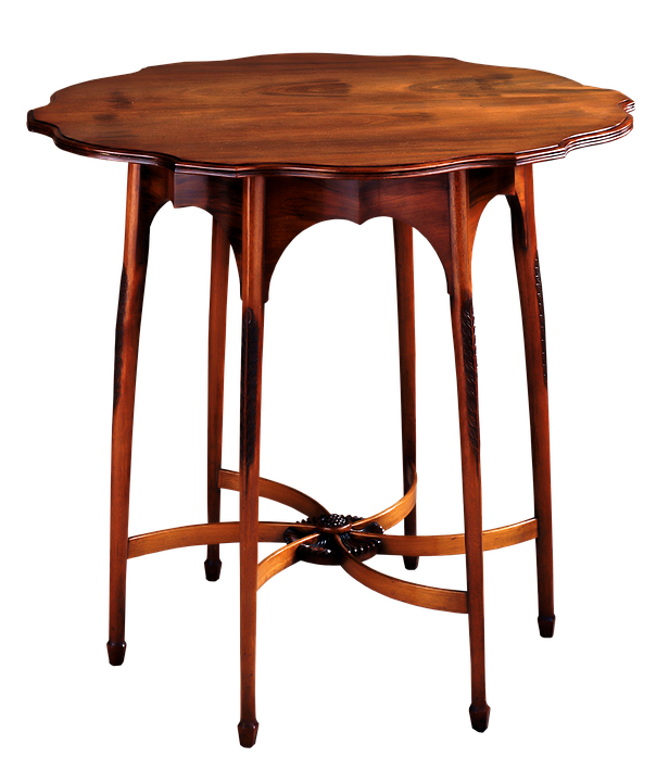 Antique Table Old Wooden Wood
